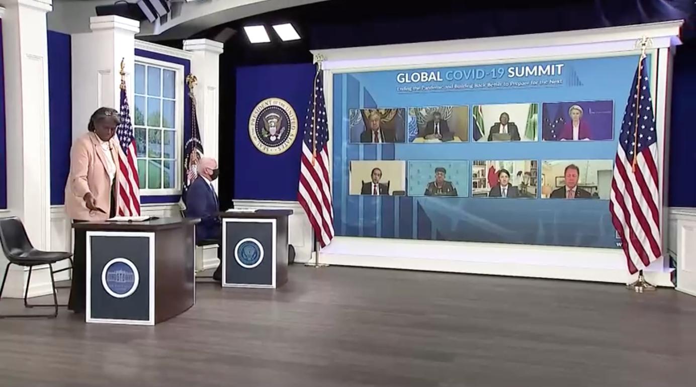 Tổng Thống Biden cam kết tăng gấp đôi tài trợ vaccine COVID-19 cho thế giới