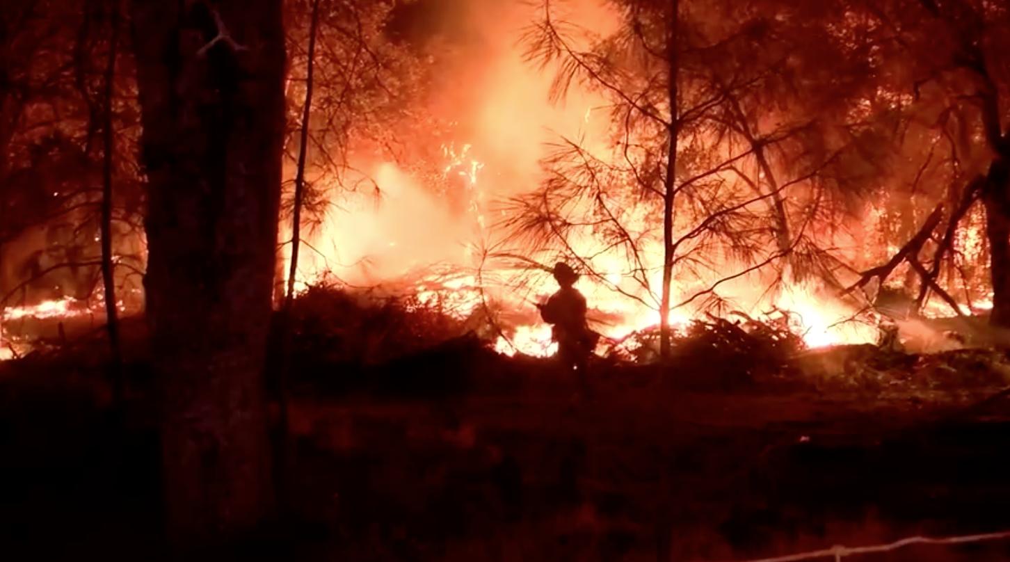 Người phụ nữ đun nước gây ra đám cháy Fawn Fire ở California
