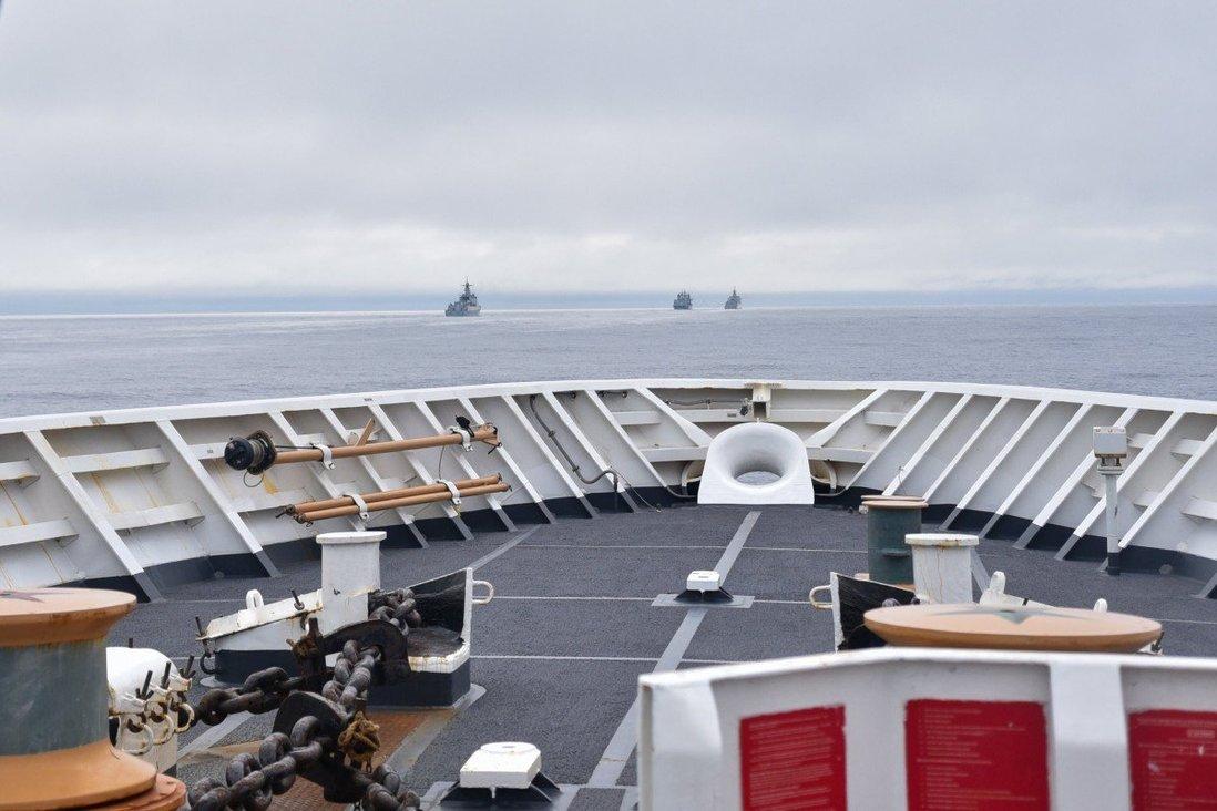 Cảnh sát tuần duyên Hoa Kỳ phát hiện chiến hạm Trung Cộng ngoài khơi Alaska