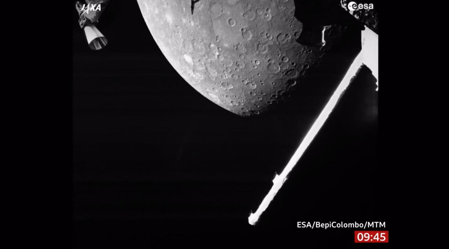 Phi thuyền không gian của Châu Âu – Nhật Bản chụp ảnh Sao Thủy