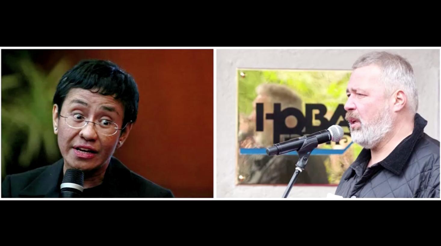 Thông điệp giải Nobel Hòa Bình năm nay: tin giả có thể tiêu diệt môt nền dân chủ